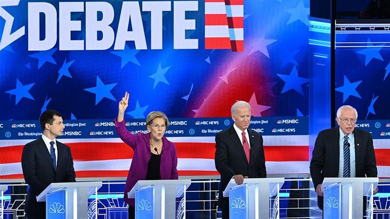 美國2020大選首場初選投票前的最后辯論,值得關注5件事