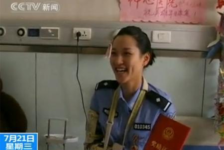 视频陕西西安最美女交警