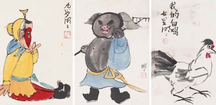 艺海童年——王明明儿童时期作品展