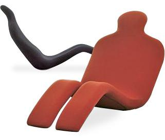躺椅造型设计图