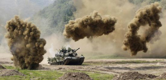 US, S. Korea launch joint military exercises CCTV News ...