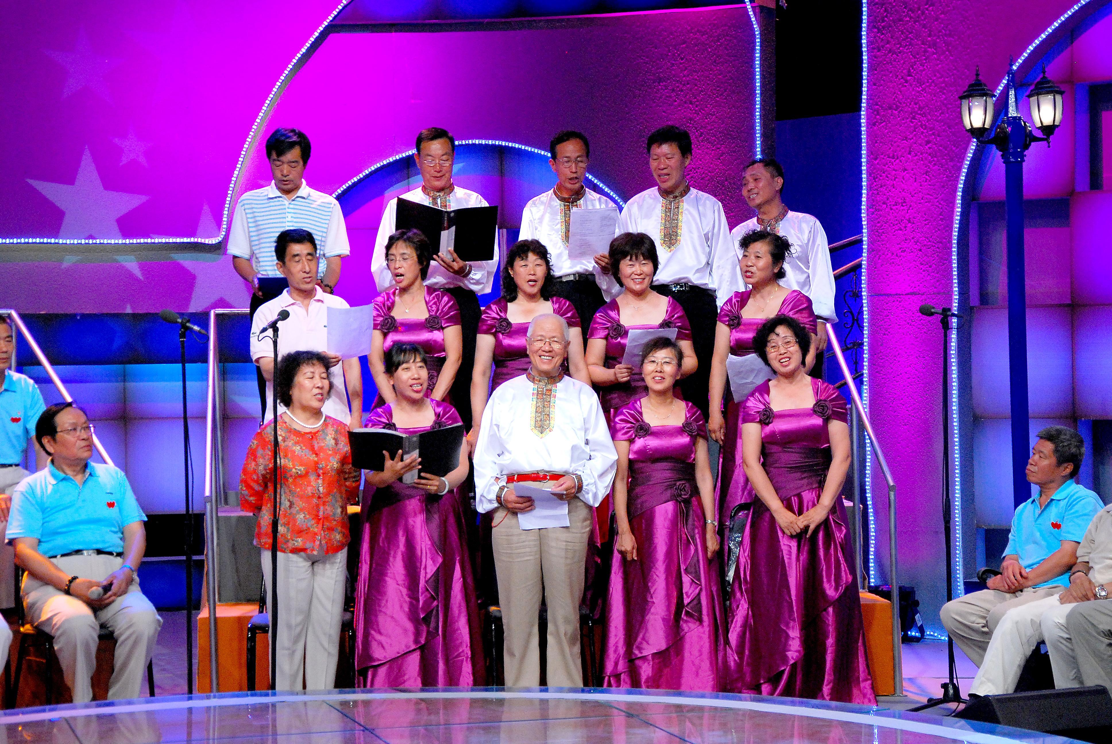 景山激情广场合唱团