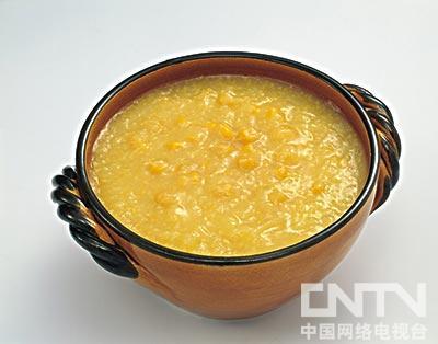 玉米棒渣粥