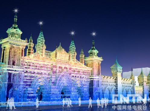 第十三届哈尔滨冰雪大世界部分规划图
