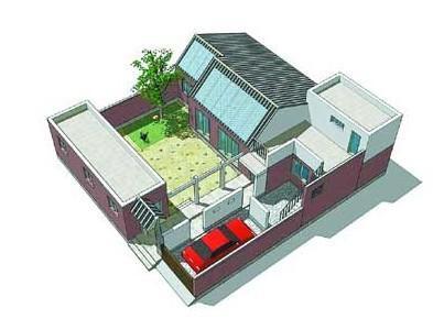 三间平房电路设计图