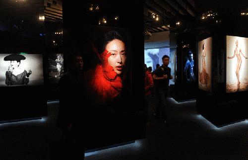大人物慈善摄影展在台北举行 图
