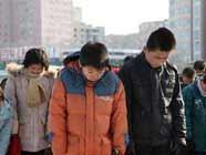 В КНДР прошел мемориальный митинг в память о покойном лидере государства Ким Чен Ире