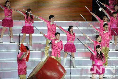 上海队精彩亮相