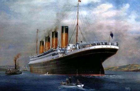 """""""泰坦尼克""""号(资料图片)"""
