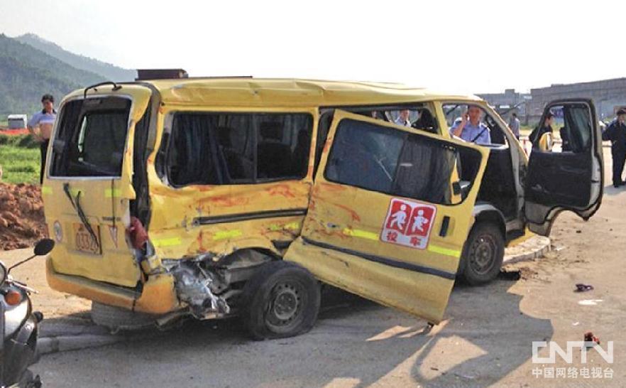 加拿大时时彩广东阳春校车事故死亡人数升至3人 双方车辆均有