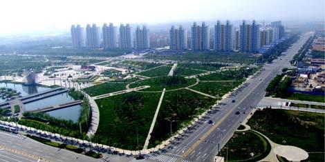 积极创建国家园林城市打造四环五海生态滨州