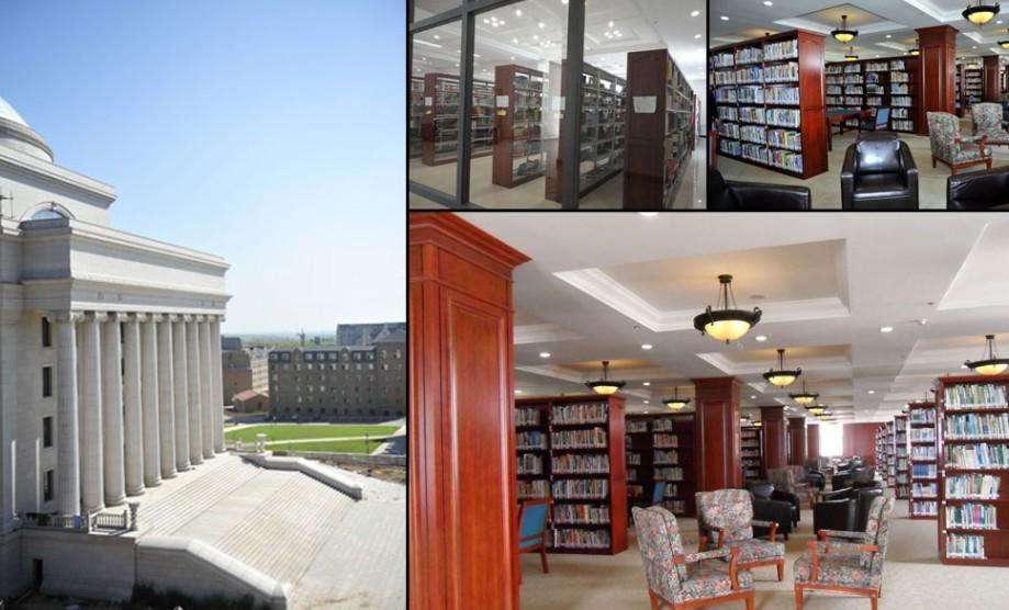 高校图书馆豪华程度被指堪比白宫