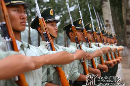 三集电视文献片《国旗护卫队》在北京大兴开机 - 中央新影 - 中央新影官方博客