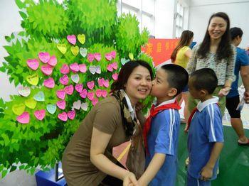 亲情树:孩子们表达对妈妈的爱