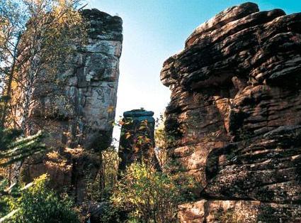 一日游:汤旺河林海奇石风景区--风灾遗迹景区
