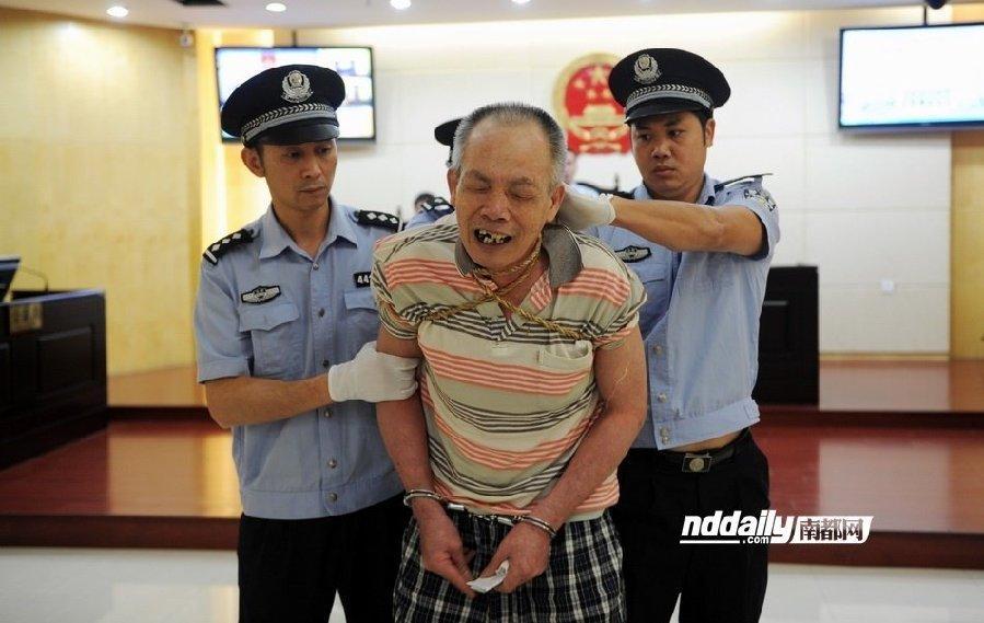 广东江门3名人犯伏法 以注射方式被执行死刑