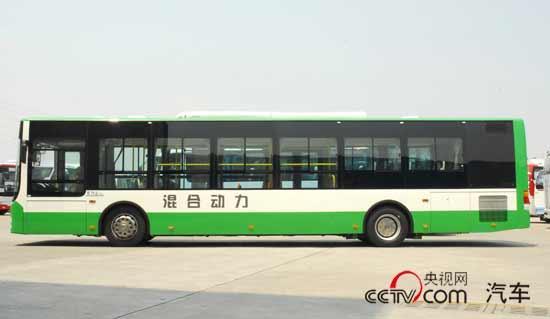 12城1200辆在线运营 厦门金旅 混合动力客车实力派 高清图片