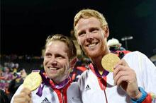 JO-2012 - Beach-volley: les Allemands Julius Brink et Jonas Reckermann en or
