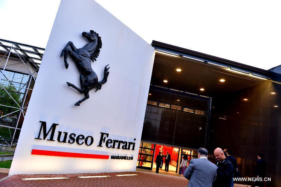 ferrari museum in maranello n italy cctv news cntv english. Black Bedroom Furniture Sets. Home Design Ideas