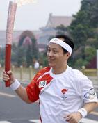 北京奥运 传递火炬