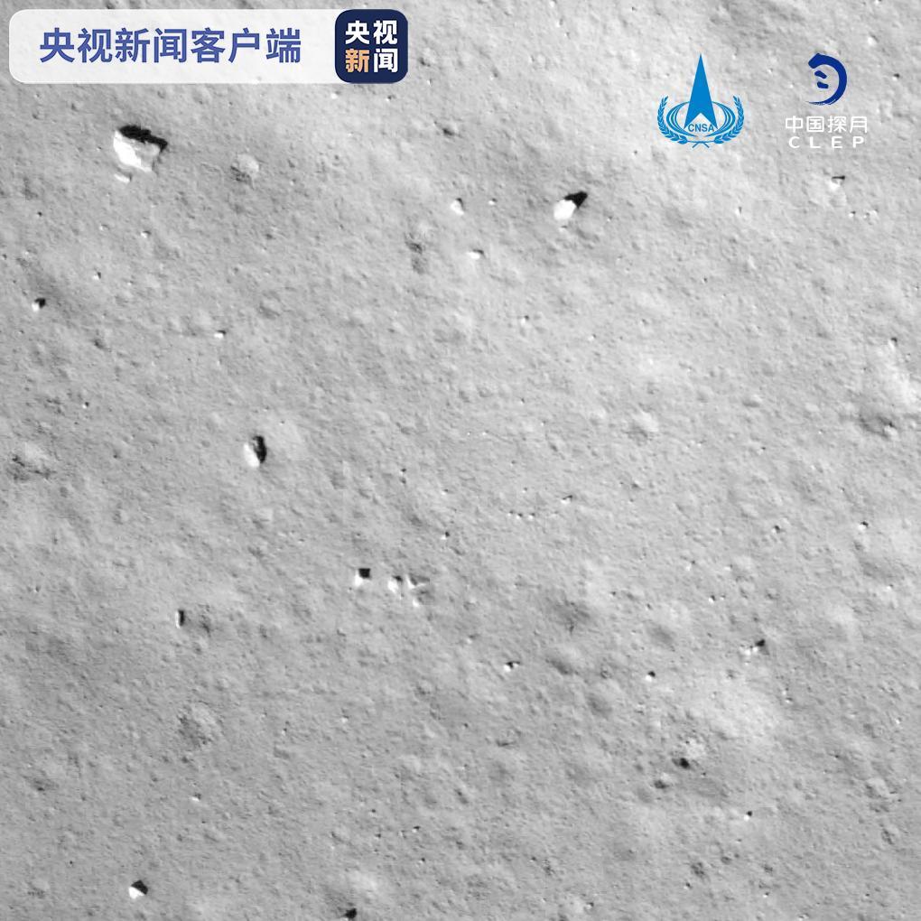 独家视频丨嫦娥五号探测器成功在月球正面预选着陆区着陆