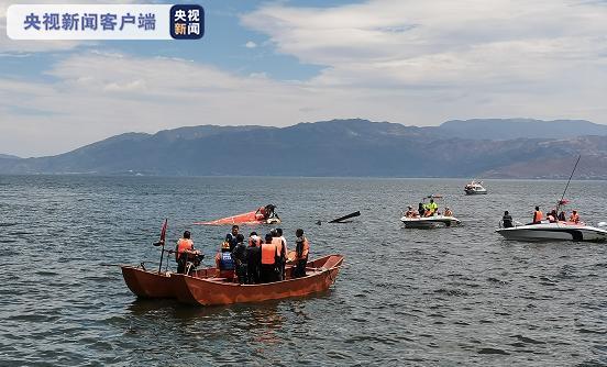 云南大理直升机坠入洱海最新进展:机上共有4名机组人员 已搜救出2人