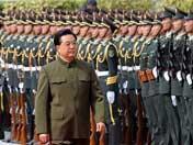 Presidente chino pasa revista al EPL en Macao
