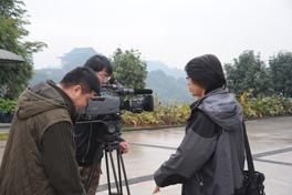 《百年中山舰》摄制组在福州拍摄外景<br><br><br>