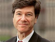 <center>美国哥伦比亚大学地球研究院院长杰佛瑞.萨克斯(Jeffrey Sachs)教授</center>