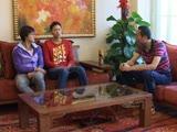 <a href=http://sports.cntv.cn/20111214/118985.shtml target=_blank>[5+会客厅]专访中国女子沙排第一组合薛晨/张希</a>