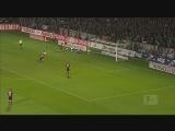 [德甲]第23轮:不来梅0-1纽伦堡 比赛集锦