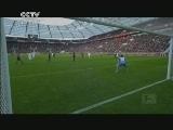 [德甲]第28轮:勒沃库森0-2弗赖堡 比赛集锦
