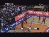 2012/2013赛季中国男子篮球职业联赛 第11轮 新疆广汇-青岛双星 第1节 20121218