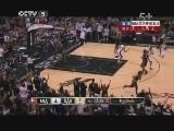 2012/2013赛季NBA总决赛第五场 热火VS马刺 第一节 20130617