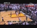 2012/2013赛季NBA总决赛第七场 马刺VS热火 第三节 20130621