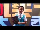 """科教频道活动视频 2013中国读书达人秀""""我的一本课外书""""广州赛区选手王语"""
