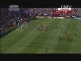 [世界杯]拉莫斯头球摆渡 比利亚凌空扫射破门
