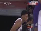 [NBA]盖伊吊球篮下 塞申斯空接暴扣得分