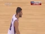 [NBA]卡斯比运球 后撤步远投命中扳平比分