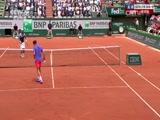 [法网]男单第一轮:法拉VS费德勒 第三盘