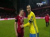[国际足球]欧预赛附加赛次回合:丹麦VS瑞典 下半场