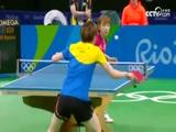 [奥运会]乒乓球女团1/4决赛 韩国队VS新加坡队 2