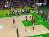 [奥运会]女子篮球半决赛 法国队VS美国队