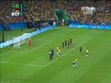 [奥运会]男子足球决赛 巴西队VS德国队 上半场