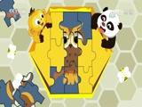 [动物好伙伴]大家爱拼图:猫头鹰