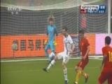 [国足]国足后卫看球不看人 芬博加松补射破门