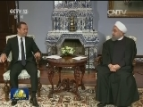 [视频]伊朗总统访俄商谈打击极端组织