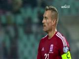 [国际足球]世预赛欧洲区:卢森堡VS保加利亚 上半场