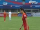 [女足]U19亚锦赛:中国VS乌兹别克斯坦 下半场