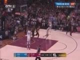 [NBA]詹姆斯拉开强突克莱 运到油漆区急停跳投